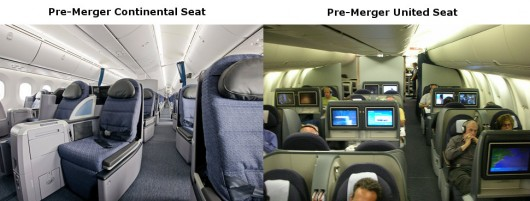Two United Business Class Seats