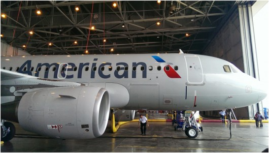 Comparing American's A319 That Goes Into Service Today to ...