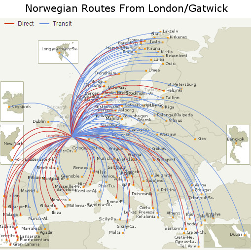 Norwegian London Gatwick