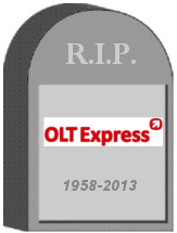 OLT Express Germany Shut Down