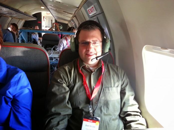 In the Convair 580